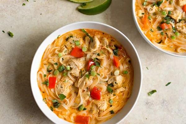 سوپ ماکارونی با شیر