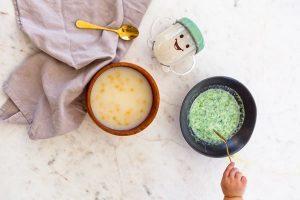 سوپ کلم بروکلی برای نوزاد