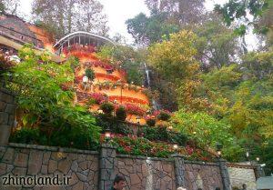 رستوران باغ بهشت دربند