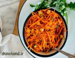 سالاد هویج فرانسوی