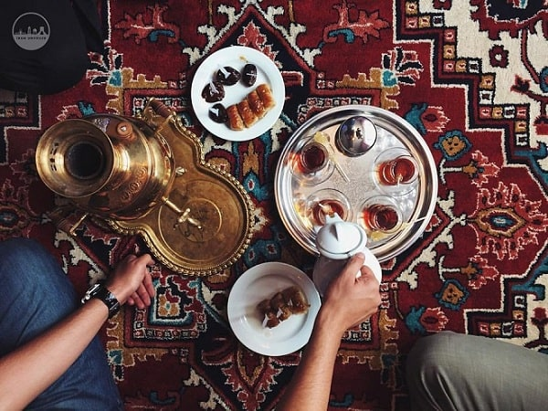 سماور چای