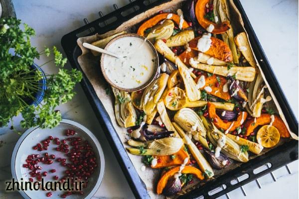 سس سبزیجات معطر