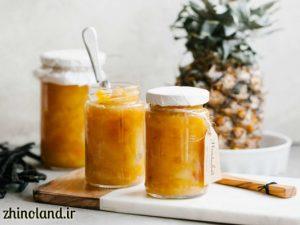 طرز تهیه مربای آناناس خانگی