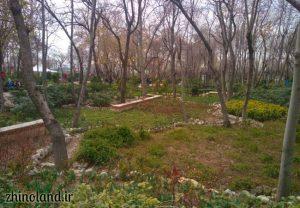 بوستان باغ ایرانی ده ونک تهران