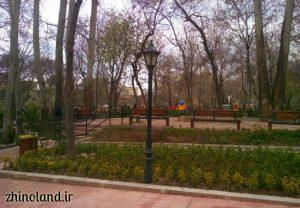 تصویر باغ ایرانی ده ونک