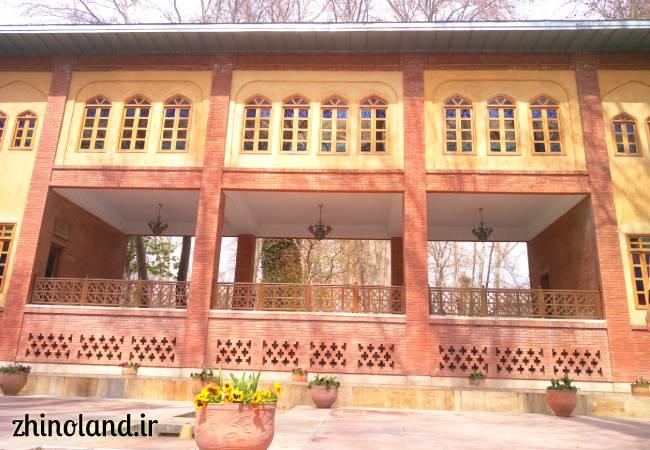 عمارت پارک باغ ایرانی