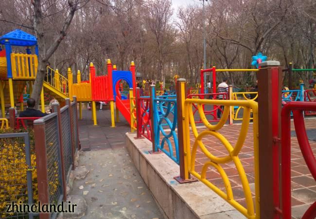 محل بازی بوستان باغ ایرانی ده ونک
