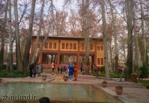 کوشک بوستان باغ ایرانی ده ونک