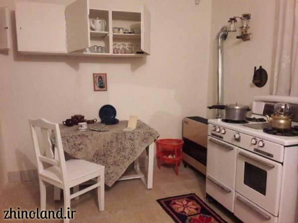 آشپزخانه خانه موزه سیمین و جلال