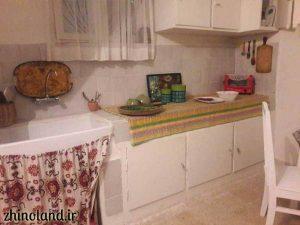 آشپزخانه موزه سیمین و جلال