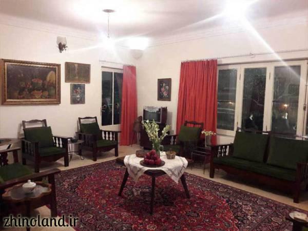 اتاق پذیرایی خانه موزه سیمین و جلال