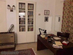 اتاق کار خانه موزه سیمین و جلال