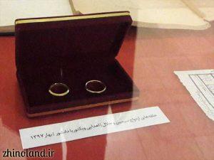 حلقه های سیمین دانشور و جلال آل احمد