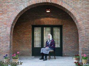 ورودی خانه موزه سیمین و جلال