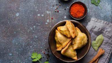 طرز تهیه سمبوسه هندی با سیب زمینی