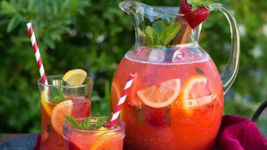 لیموناد توت فرنگی