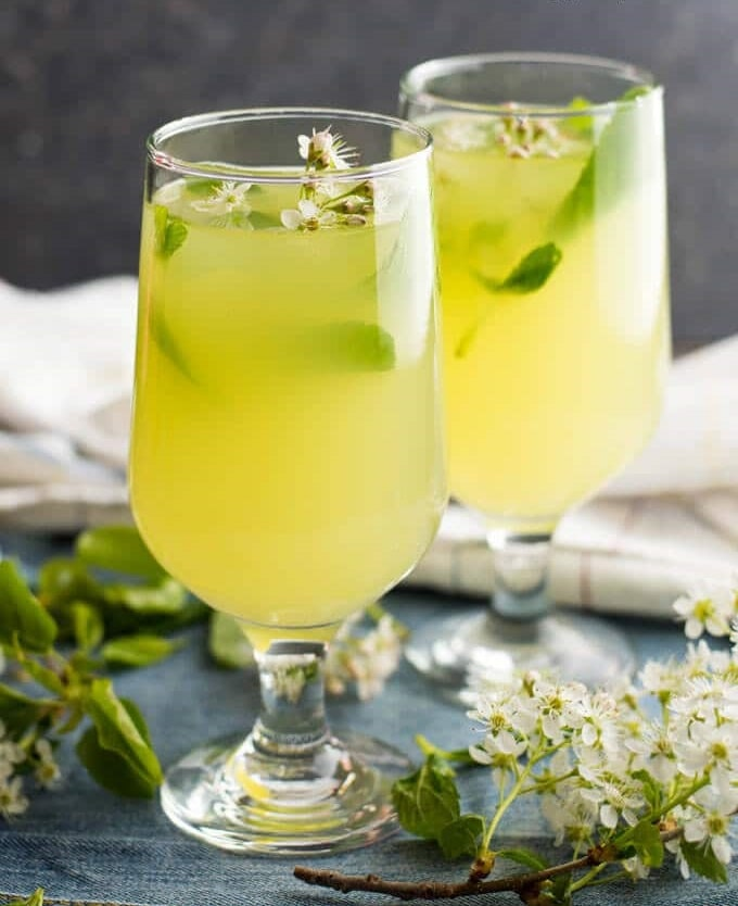 نوشیدنی لیموناد نعناع