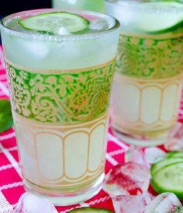 لیموناد خیار با نعناع